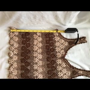 Tops - Handmade Finely Crocheted Tank Top